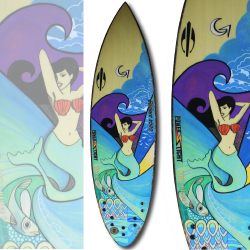 SURFBOARDS COMMERCIAL MERMAID